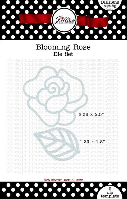 Blooming Rose Die Set