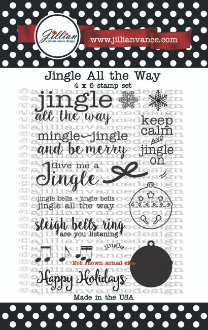 Jingle All the Way Stamp Set
