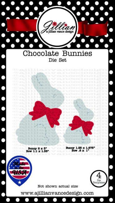 Chocolate Bunnies Die Set