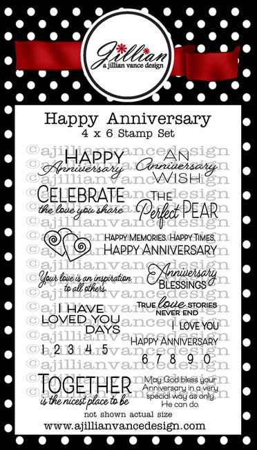 Happy Anniversary Stamp Set