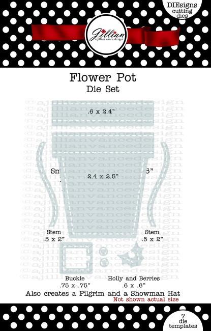 Flower Pot Die Set
