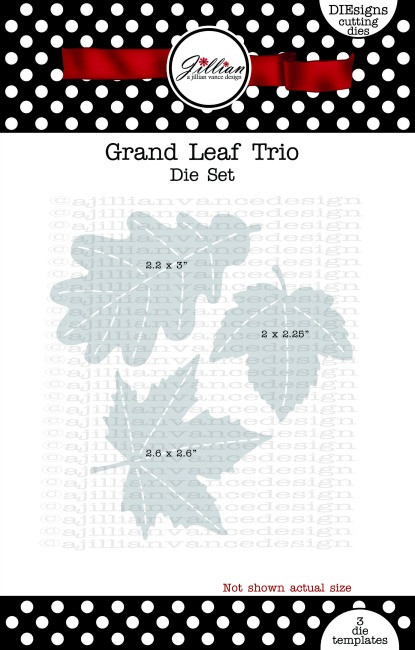 Grand Leaf Trio Die Set