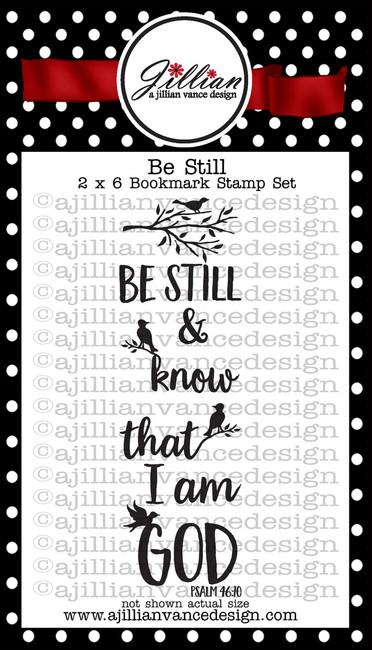 Be Still Bookmark Stamp Set