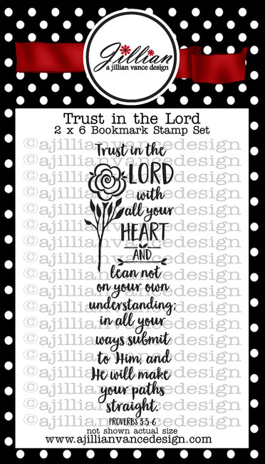 Trust in the Lord Bookmark Stamp