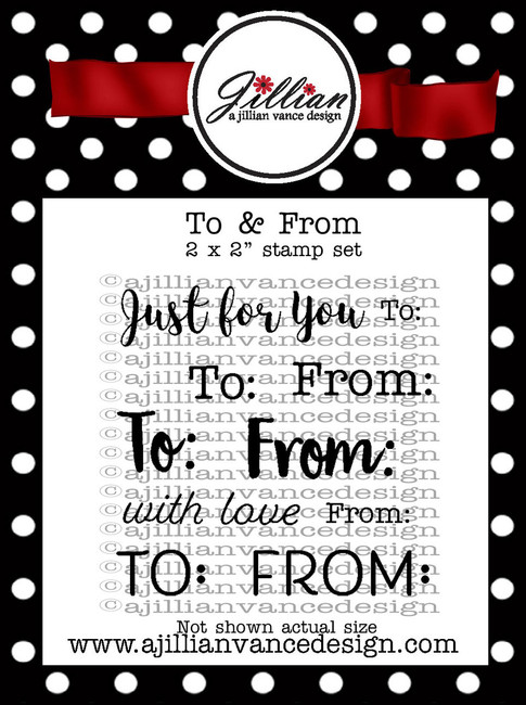 To & From 2 x 2 Stamp Set