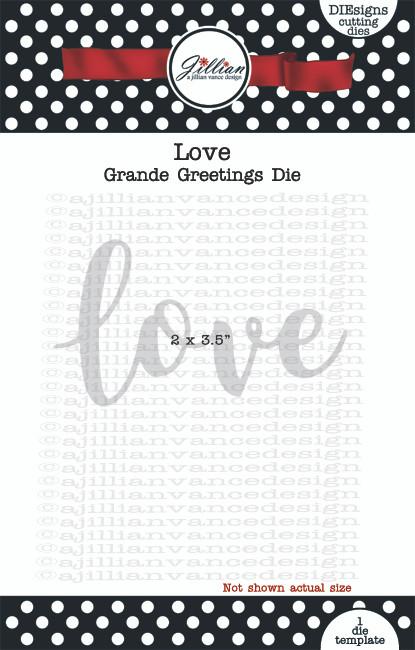 Grande Greetings  Love Word Die