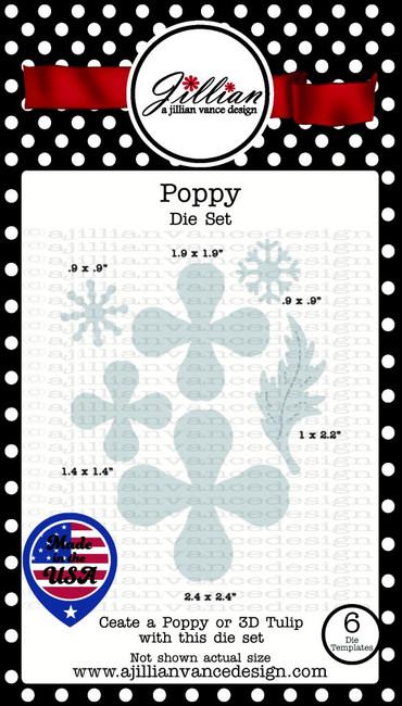 Poppy Die Set