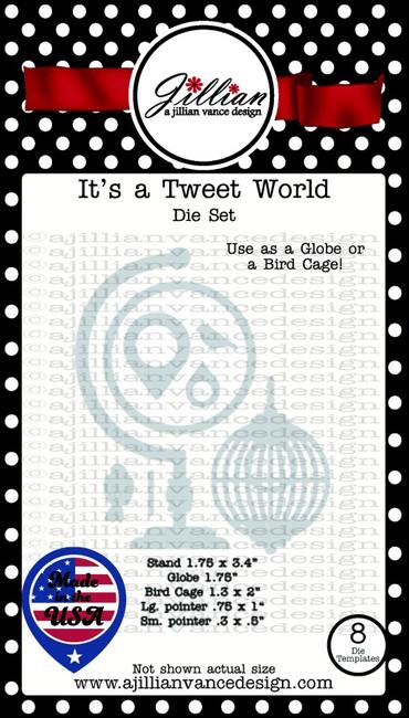 It's a Tweet World Die Set