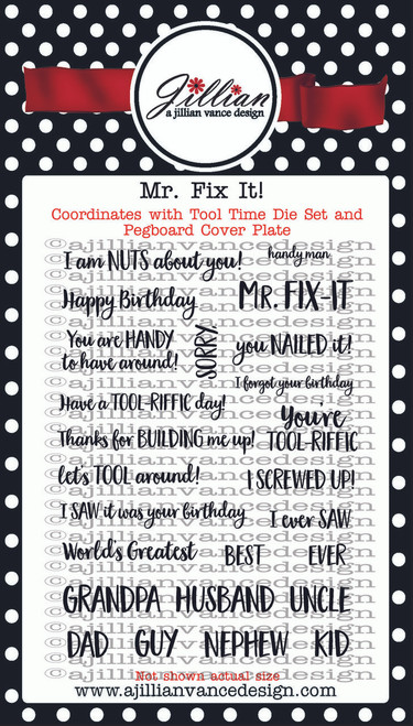 Mr. Fix It! Stamp Set