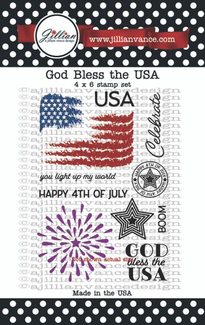 God Bless the USA Stamp Set