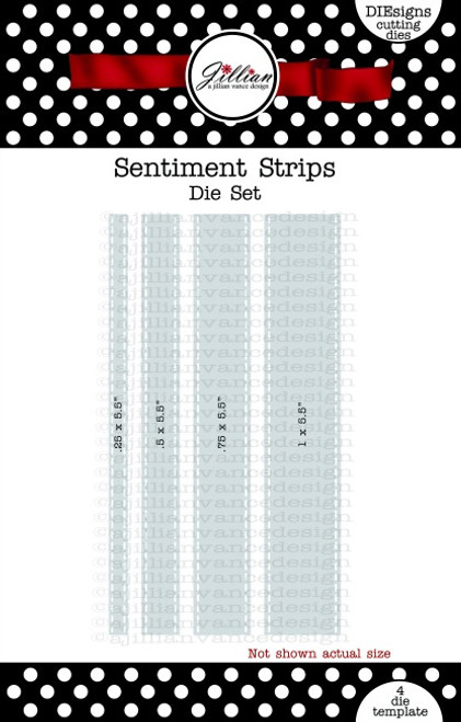 Sentiment Strips Die Set