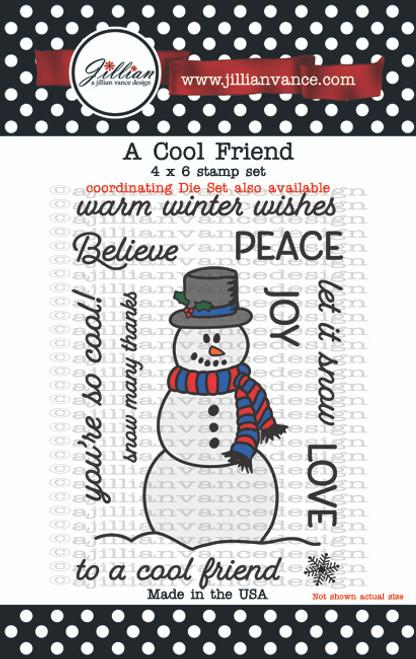 A Cool Friend Stamp Set