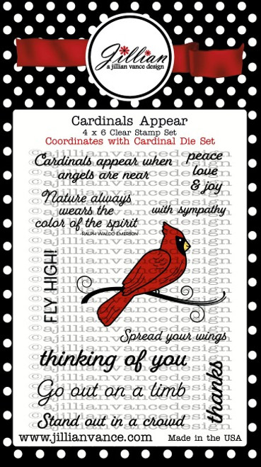 Cardinals Appear Stamp Set