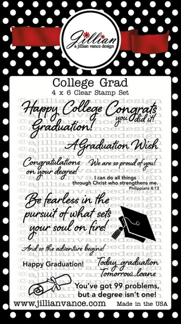 College Grad Stamp Set