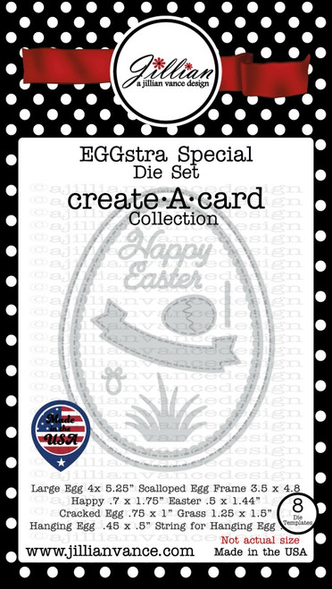 EGGstra Special Create A Card Die Set