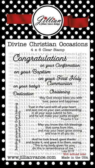 Divine Christian Occasions Stamp Set