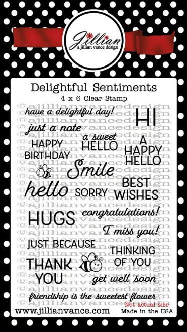 Delightful Sentiments Stamp Set