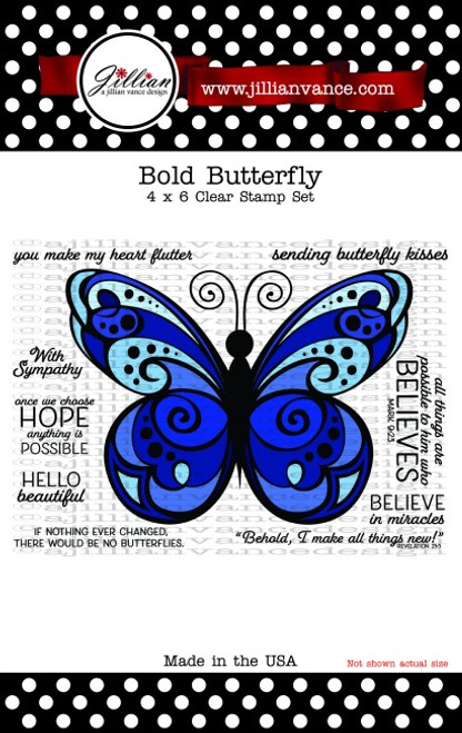 Bold Butterfly Stamp Set