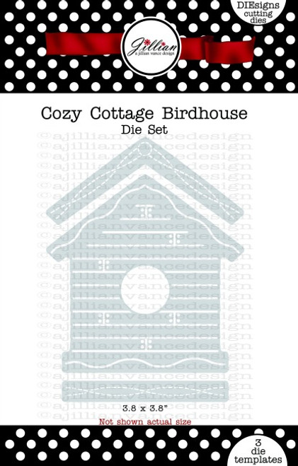 Cozy Cottage Birdhouse Die Set
