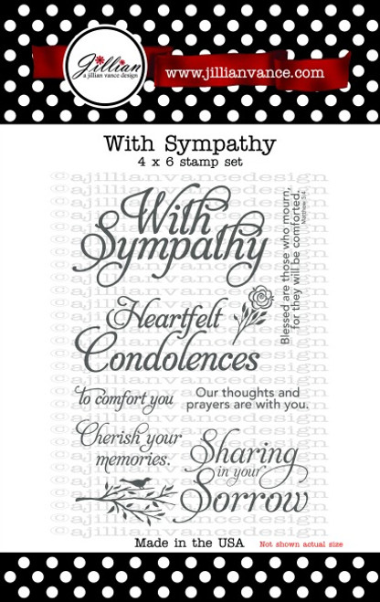 With Sympathy Stamp Set