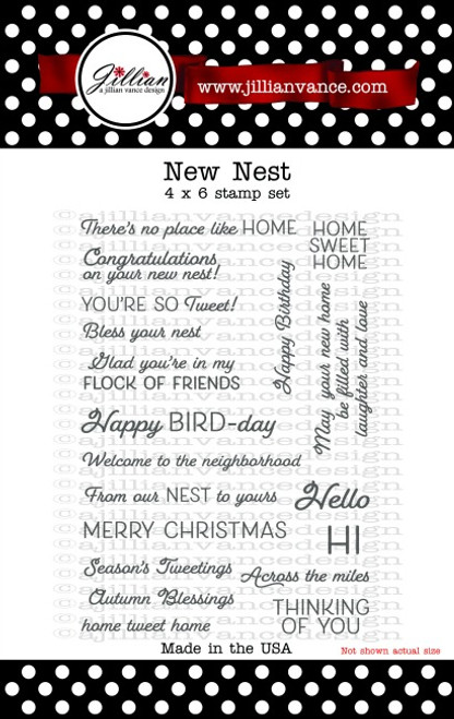 New Nest Stamp Set