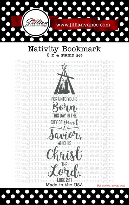 Nativity Bookmark Stamp Set