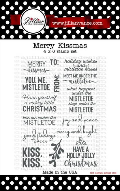 Merry KISSmas Stamp Set