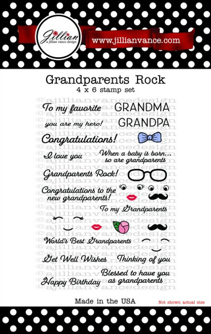 Grandparents Rock Stamp Set