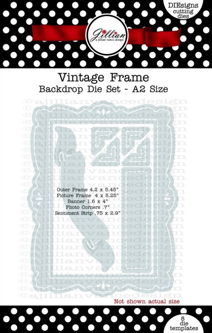 Vintage Frame Backdrop Die Set