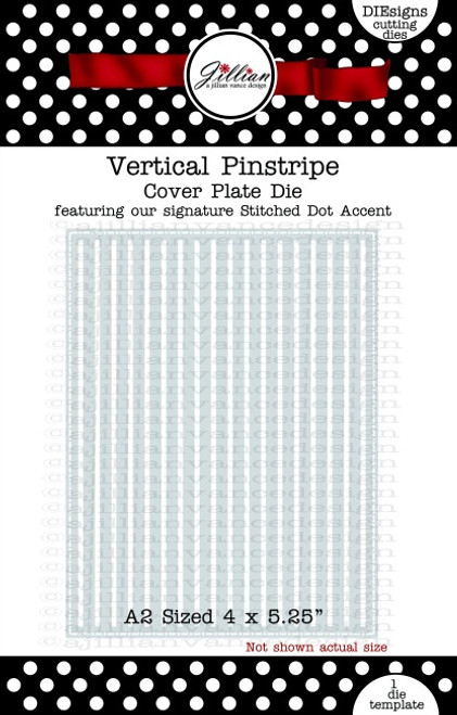 Vertical Pinstripe Cover Plate