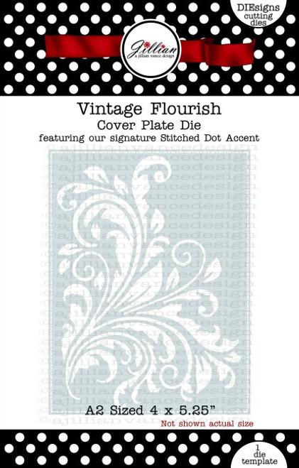 Vintage Flourish Cover Plate