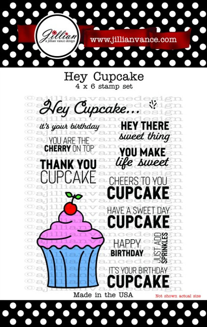 Hey Cupcake Stamp Set
