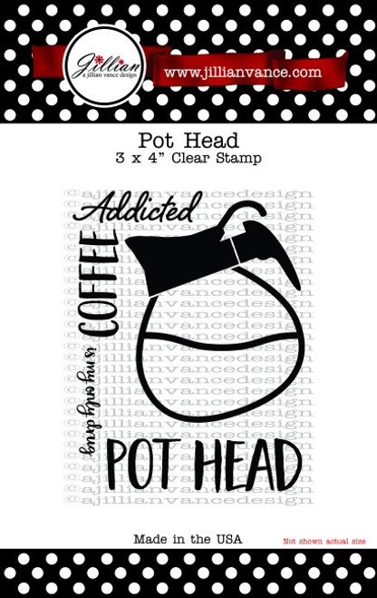 "Pot Head 3 x 4"" Stamp Set"