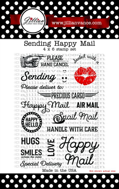 Sending Happy Mail Stamp Set