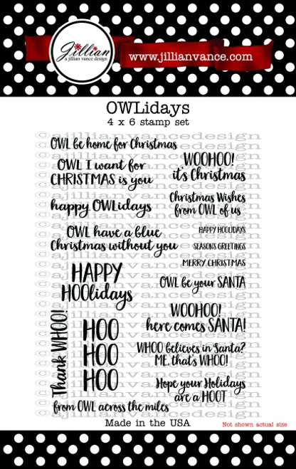 OWLidays Stamp Set