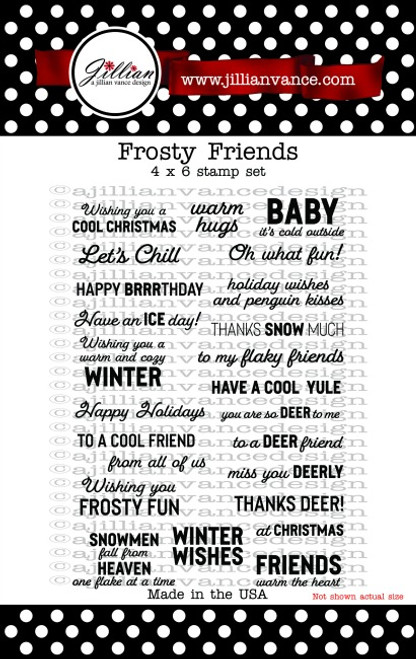 Frosty Friends Stamp Set