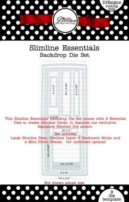 Slimline Essentials Backdrop Die Set