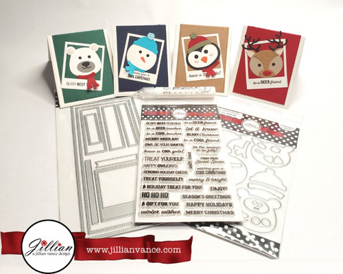 We will be creating these 4 Gift Card Giving cards October 3rd at the OOAK Craft Along Virtual Event.