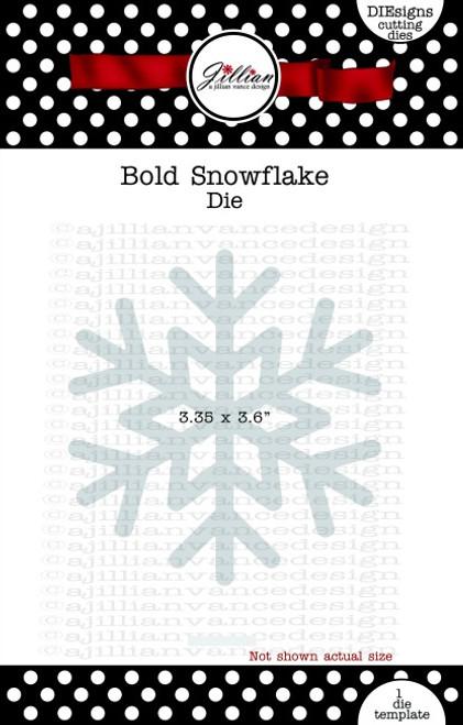 Bold Snowflake Die