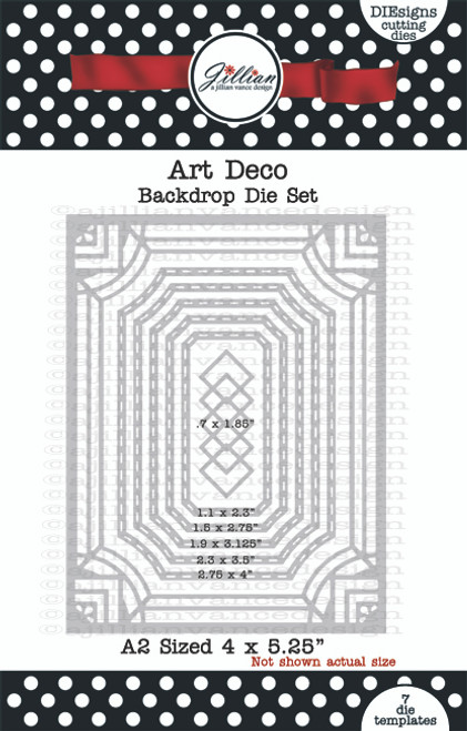 Art Deco Backdrop Die Set