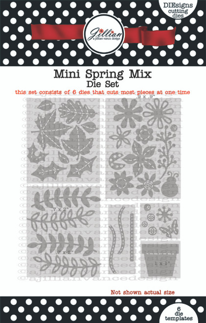 Mini Spring Mix Die Set