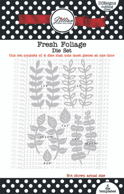 Fresh Foliage Die Set
