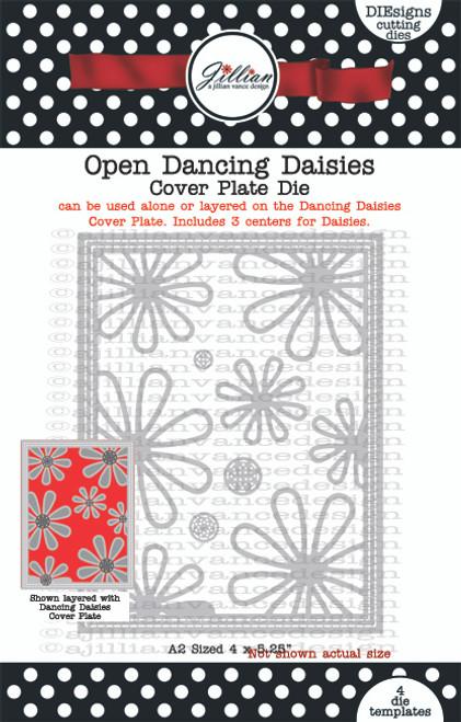 Open Dancing Daisies Cover Plate Die