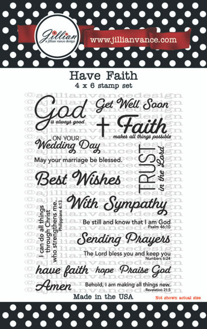Have Faith Stamp Set