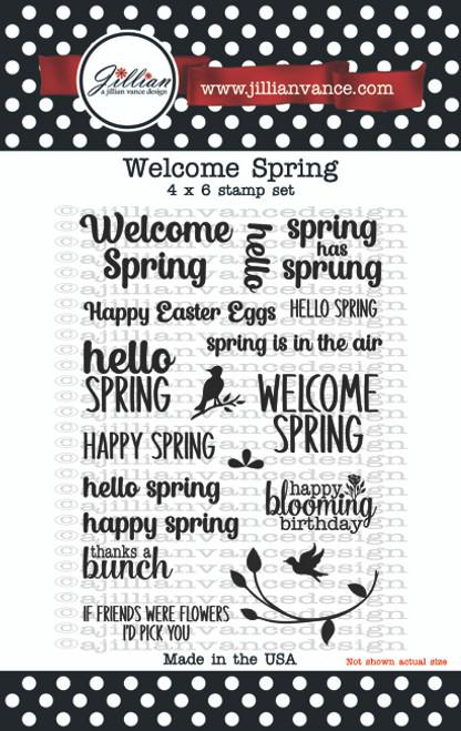 Welcome Spring Stamp Set