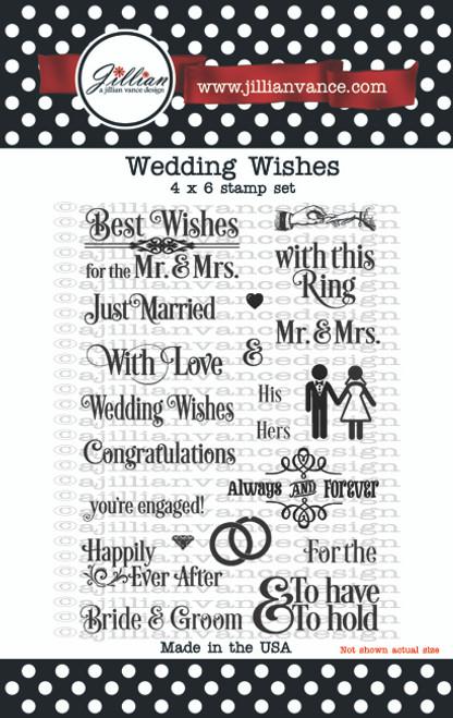 Wedding Wishes Stamp Set