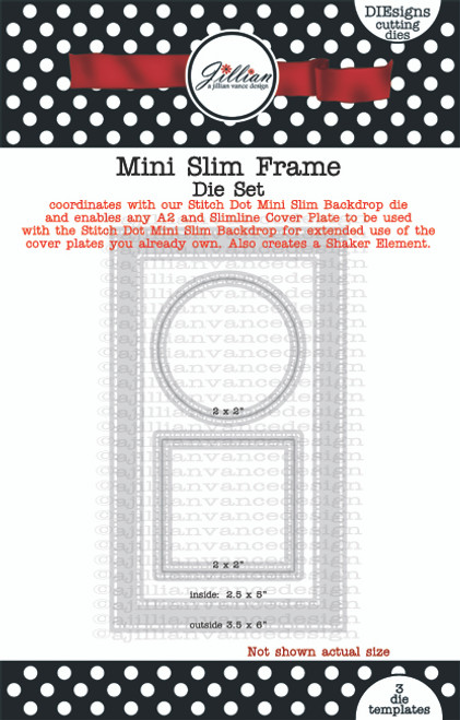 Mini Slimline Frame Die Set