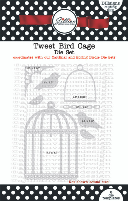 Tweet Bird Cage Die Set