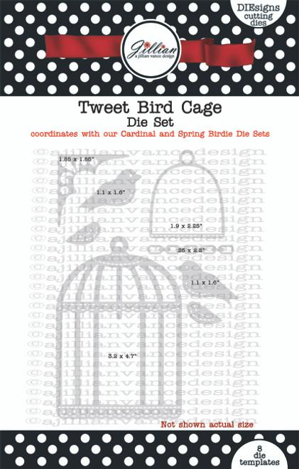 Tweet Bird Cage Die Set