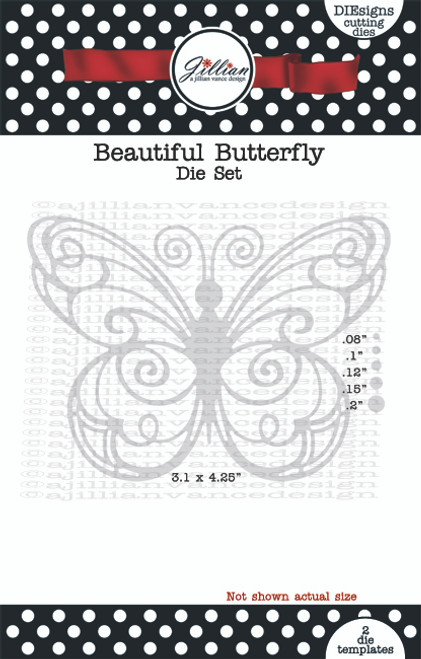 Beautiful Butterfly Die Set